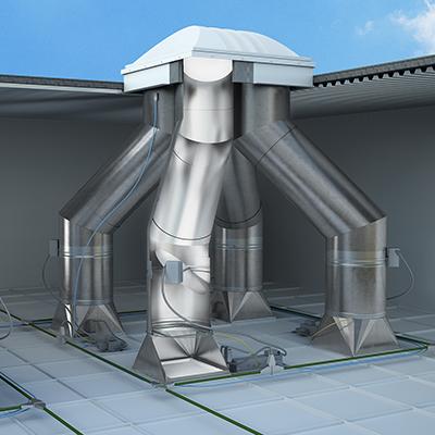 SLFTL4 Tubular Daylighting System