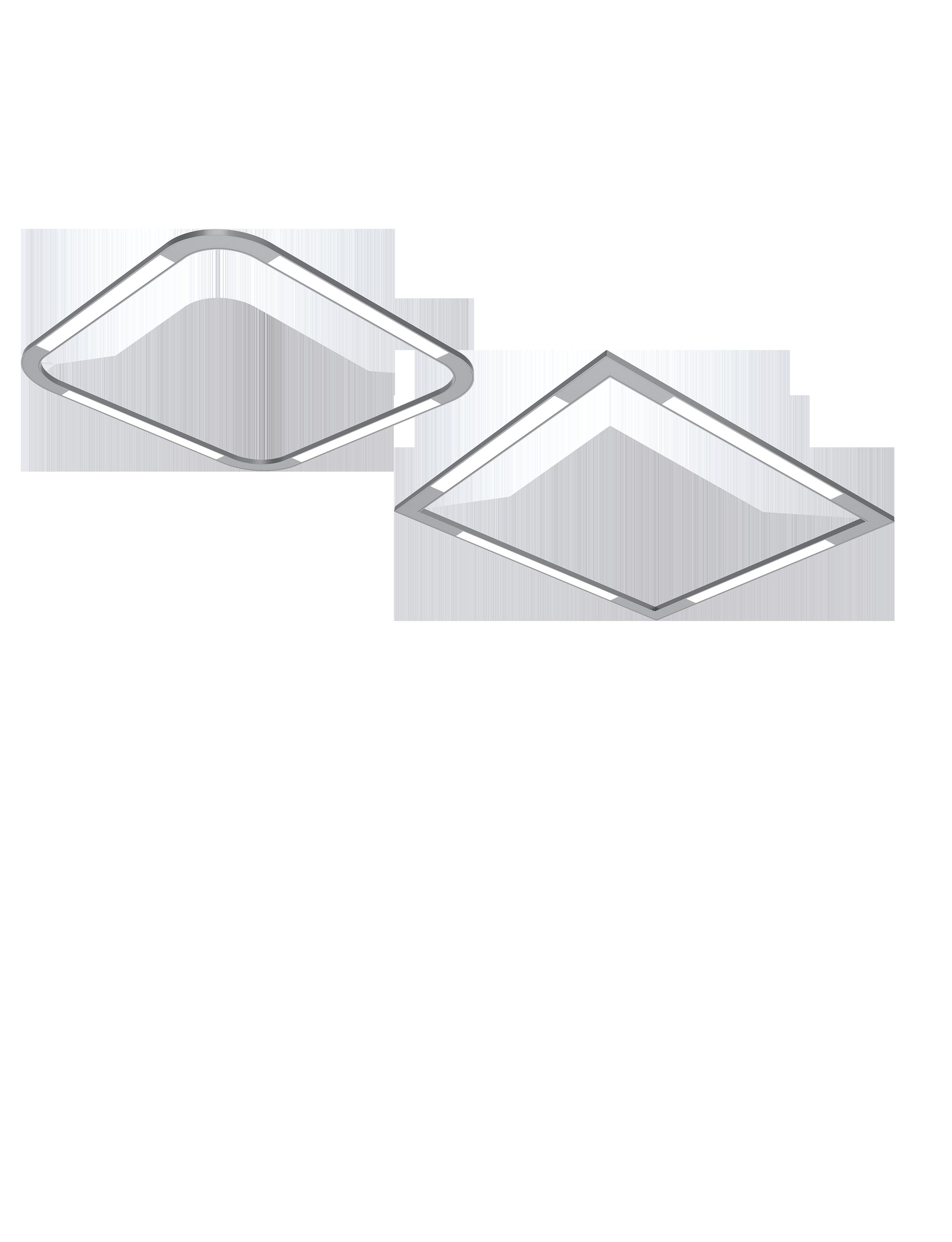 Renna Indirect Direct Flat Patterns Static White