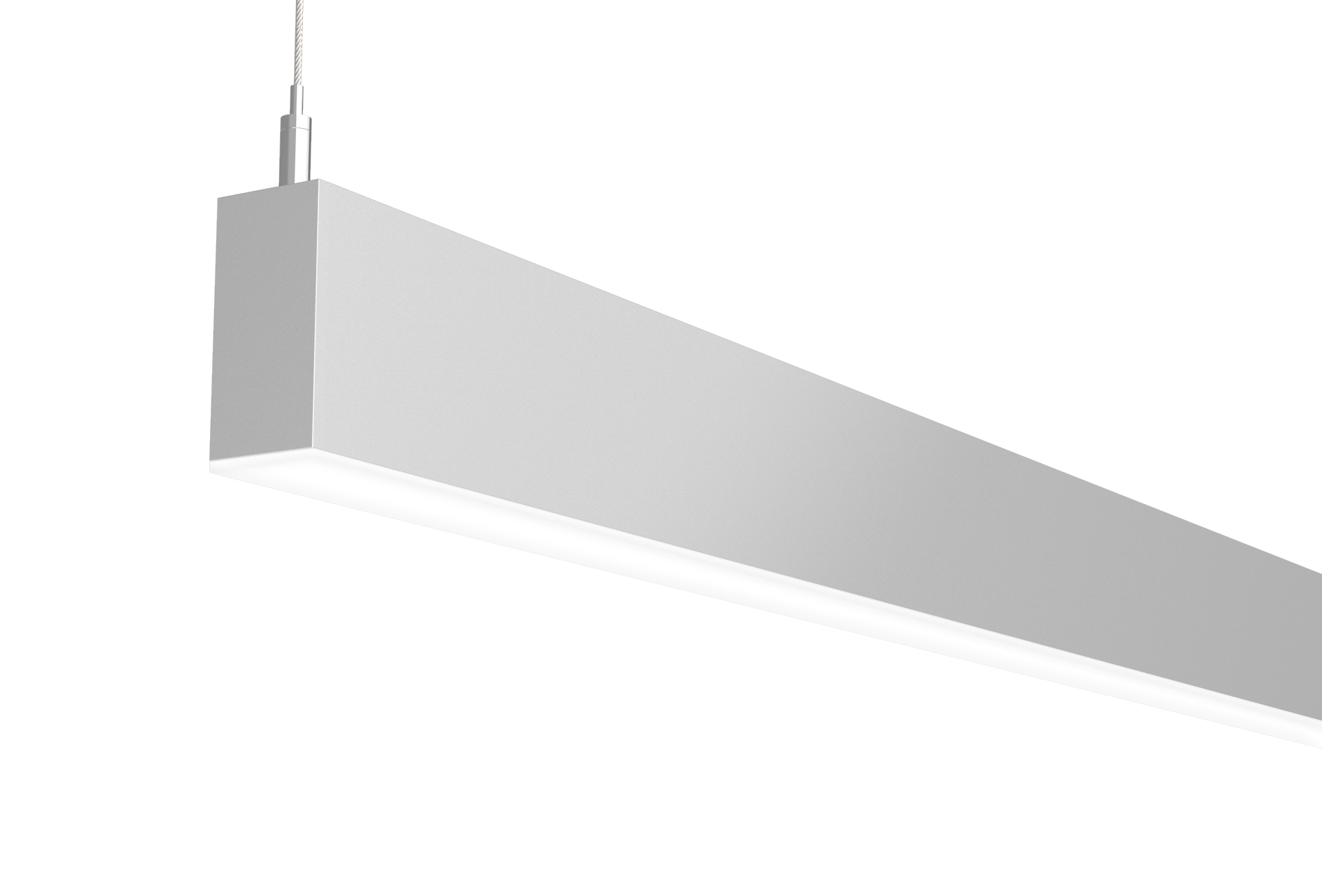 Direct Indirect Pendant edge view