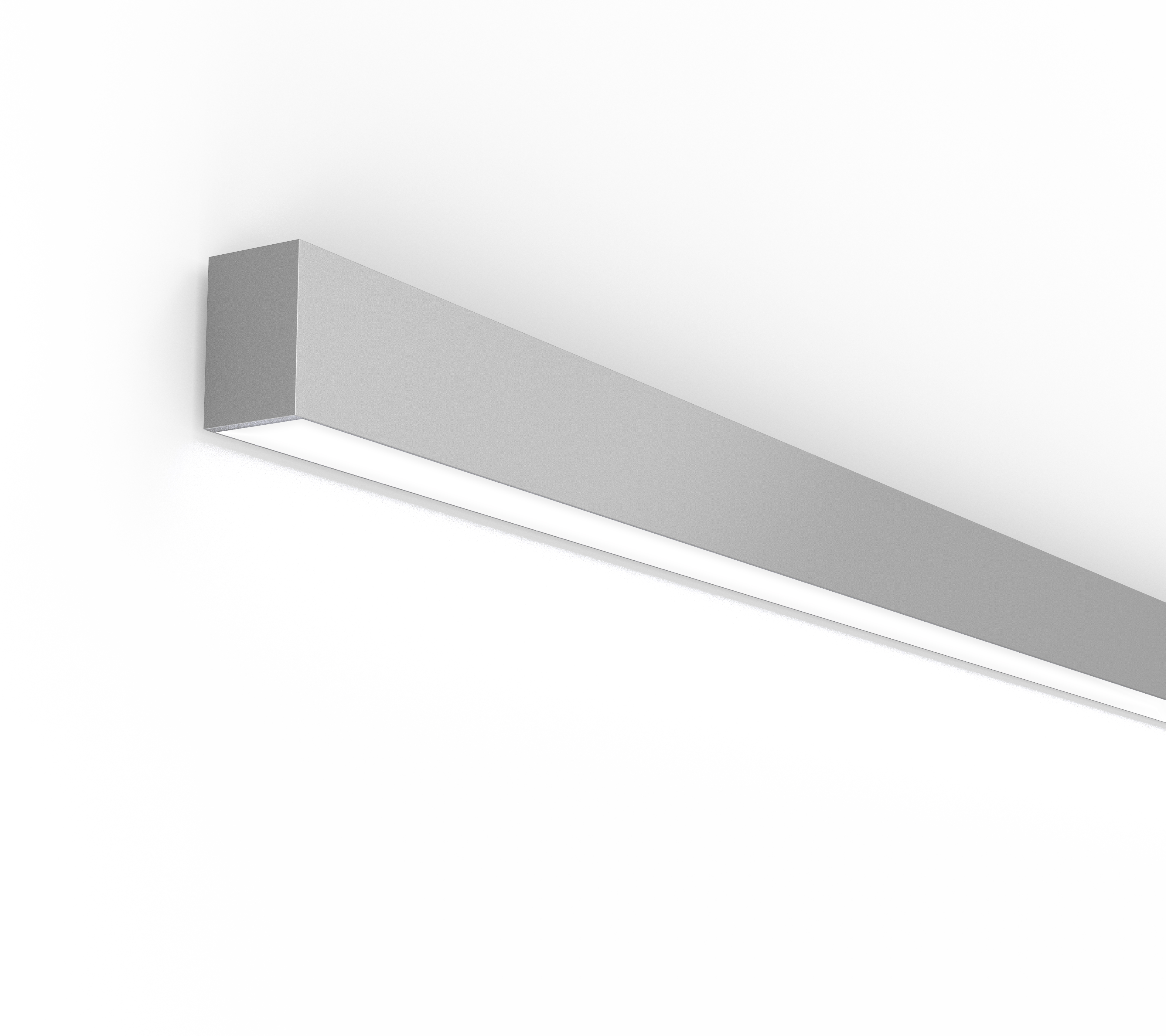 Silver Direct Wall with flush lens