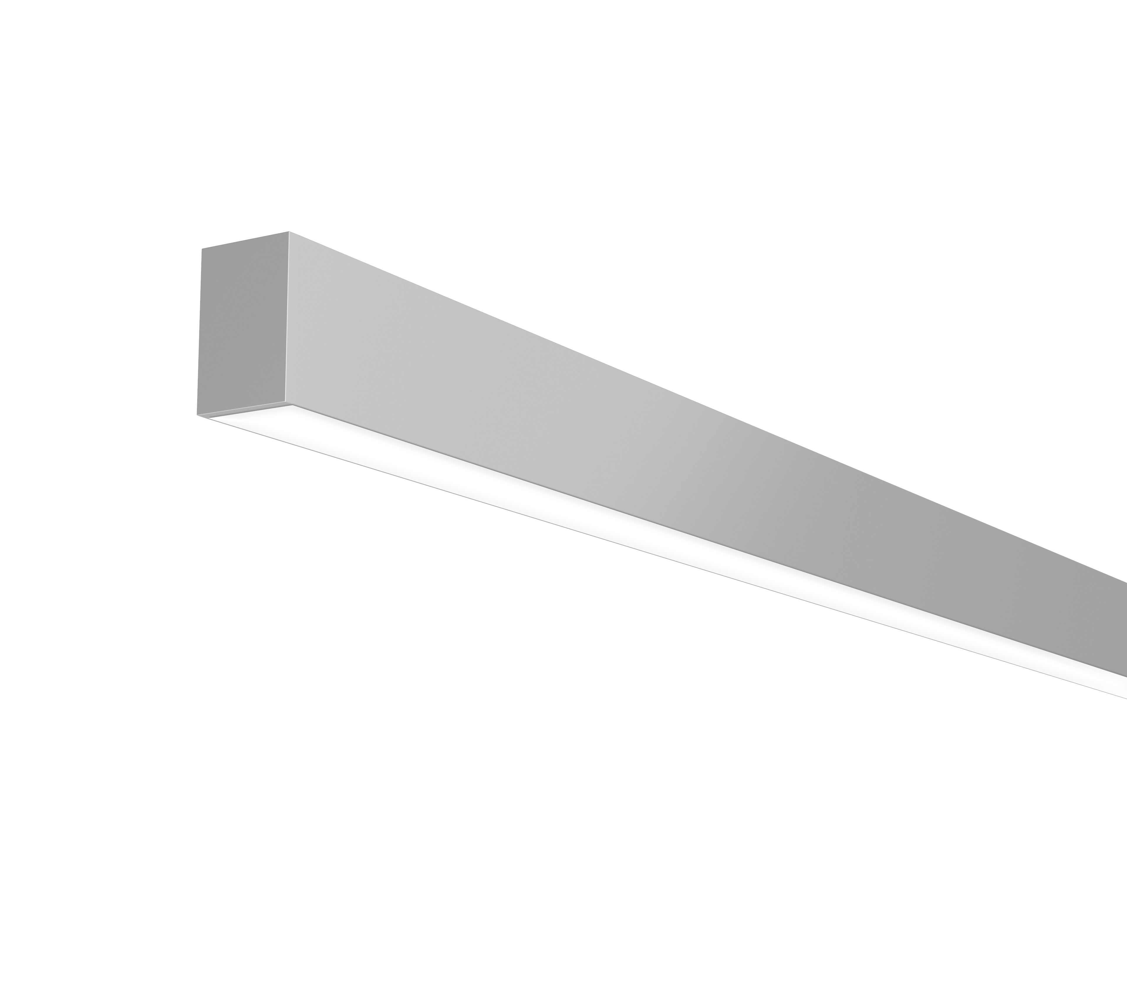 Direct wall with flush lens