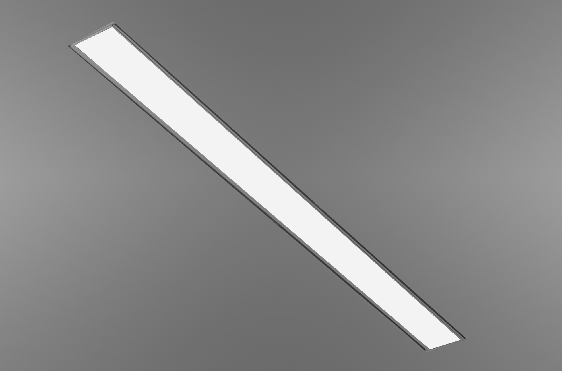 Slot 4 led recessed linear direct illumination 4 nominal width