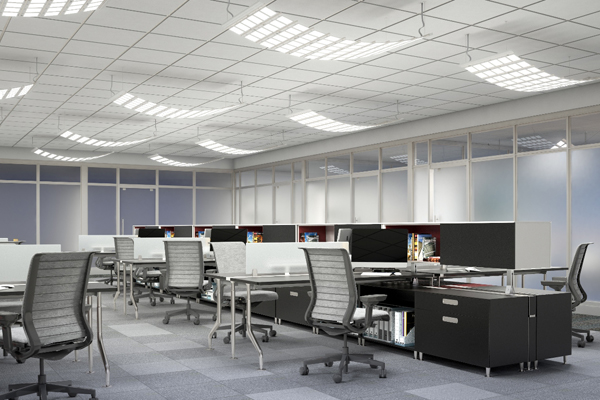 CANVIS Drape OLED Open Office