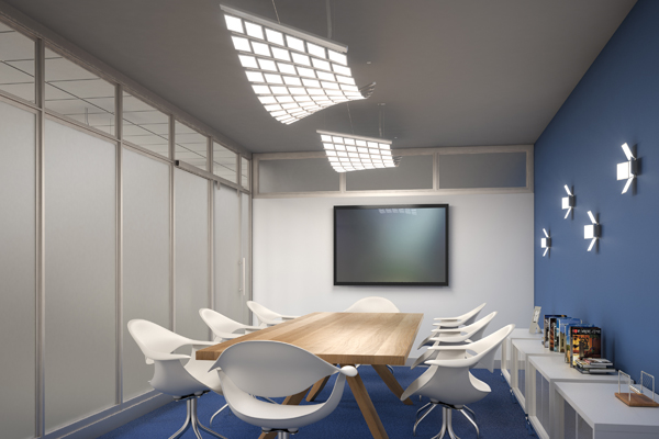 CANVIS Twist Revel OLED Conference Room
