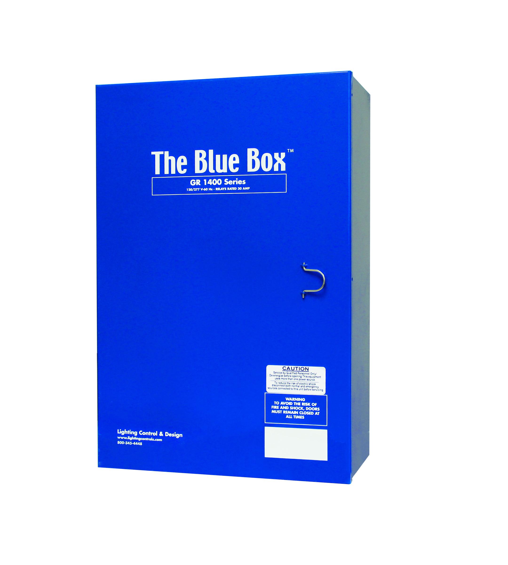 Blue Box Clic Control Panel