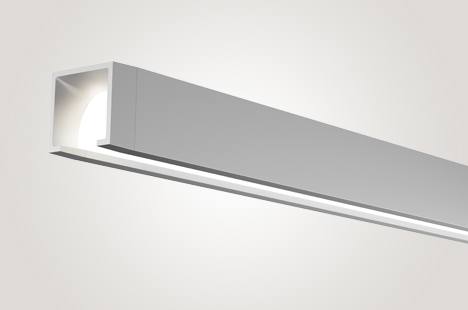 Open LED Suspended