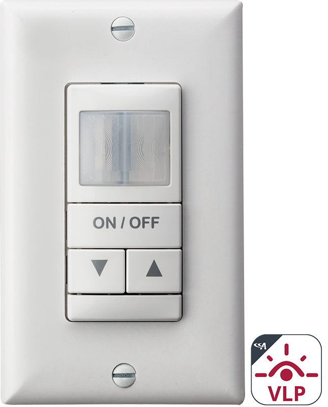 WSX D - Dimming Occupancy Wall Switch