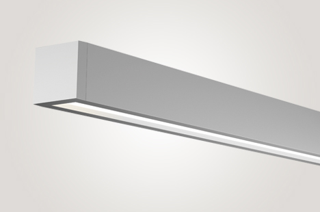 Open LED Suspended Direct Wall Wash