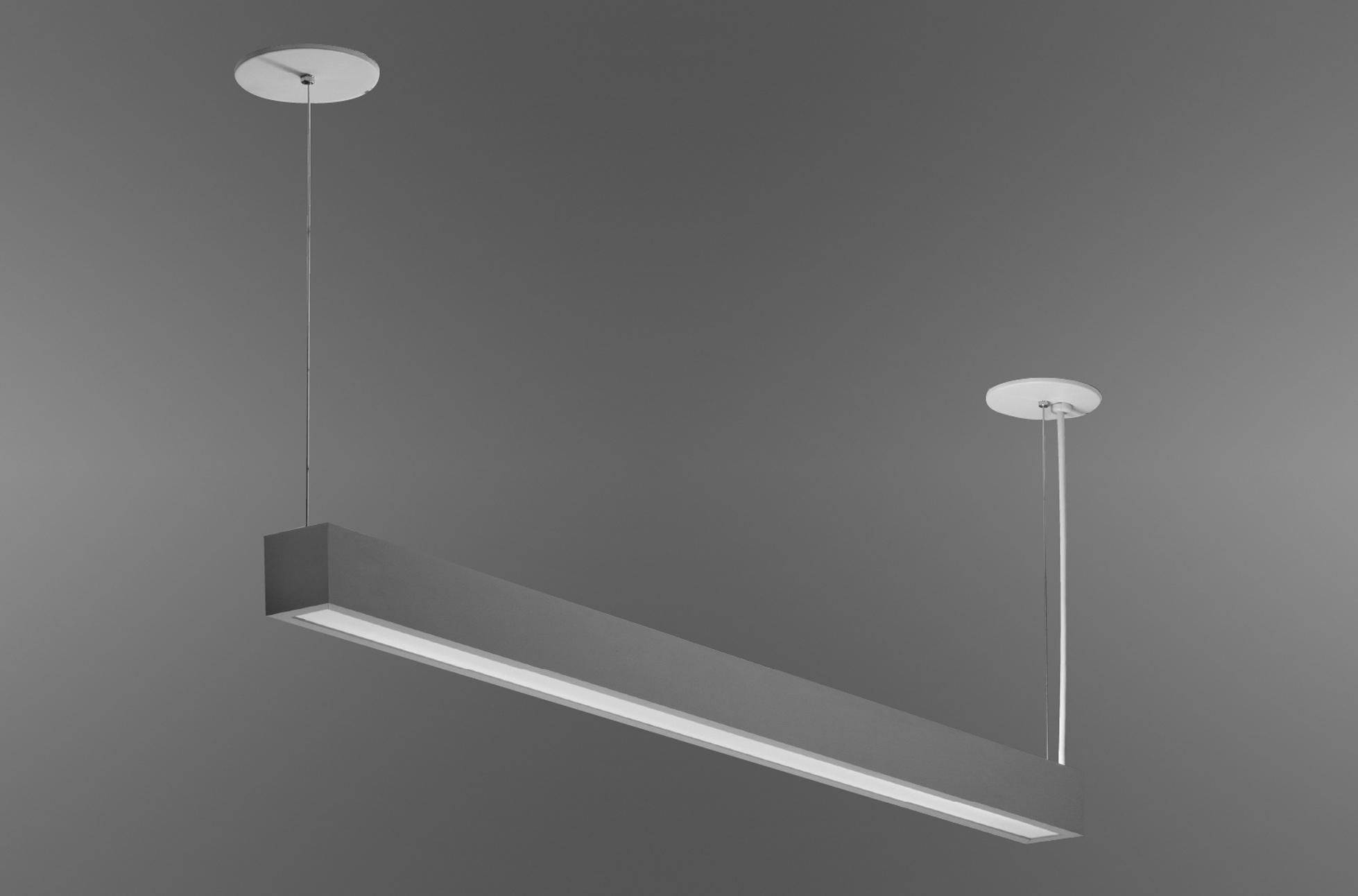 Stick Pendant Indirect Ambient Illumination Optional