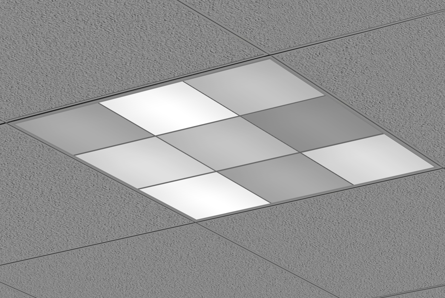 Rubik Grsc Architectural Recessed Led Dynamic