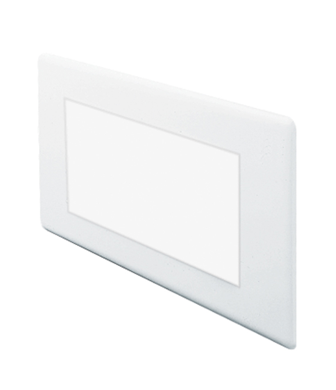 Juno Lighting Group 840-WH CFL Indoor Step Light Louver Trim White Finish
