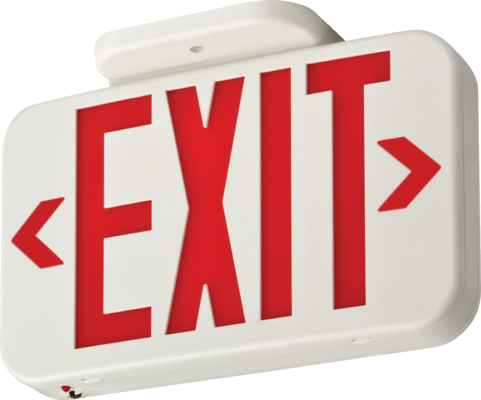 Contractor Select EXG and EXR LED Exit Sign