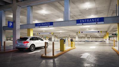 VCPG Ultimate LED Garage Entrance