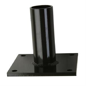"White 52/"" Straight Arm Steel Post"