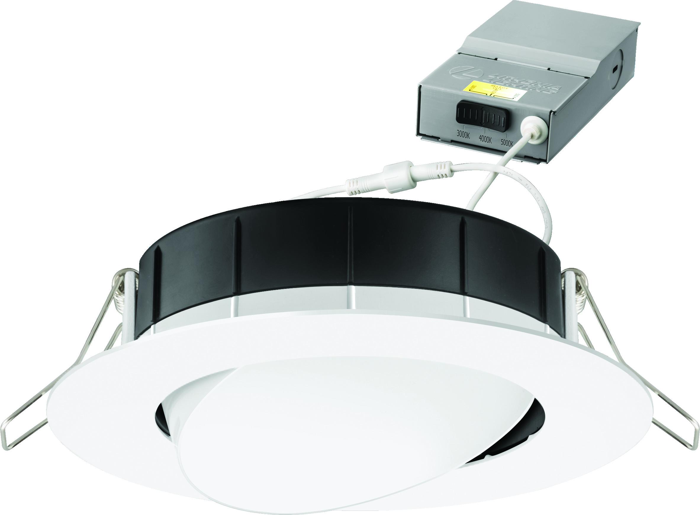 uk availability 02873 0cc27 WF4 Adjustable Gimbal with Switchable White - Wafer™ LED ...
